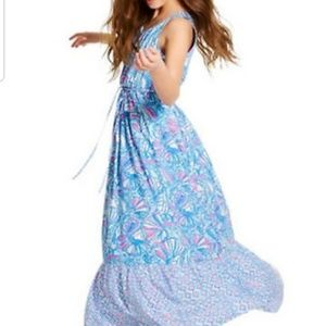 Lilly Pulitzer for Target Girls Pink & Blue Maxi